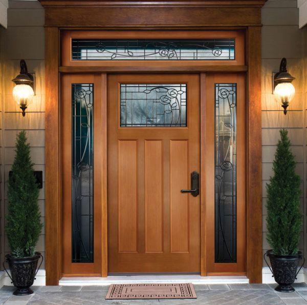 Виды входных дверей
