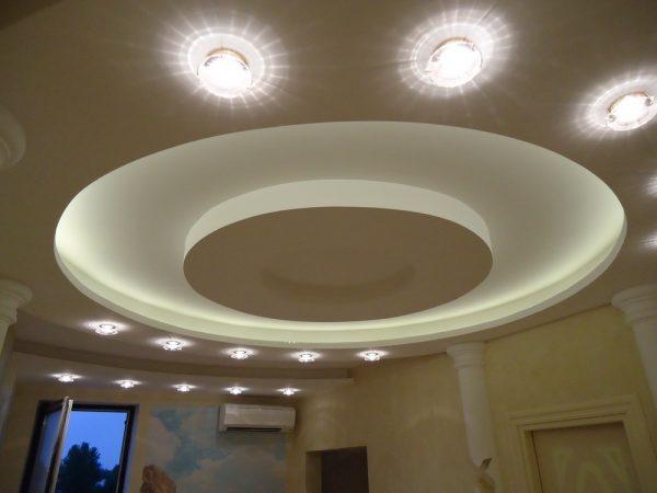 Виды потолка - многоуровневый