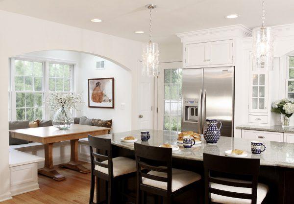 Кухни-столовые в квартирном интерьере