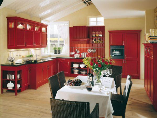 Какой цвет выбрать для интерьера кухни