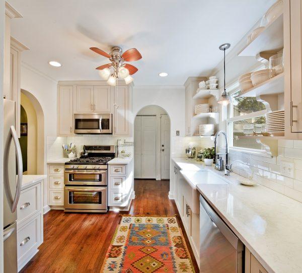 Коврики в интерьере кухни