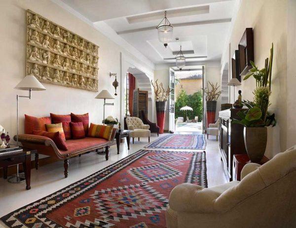 Элементы этно-стиля в оформлении обычной городской квартиры