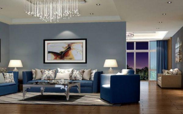 Цветовые решения в дизайне интерьера