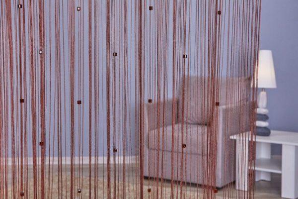 Нитяные шторы. Достоинства