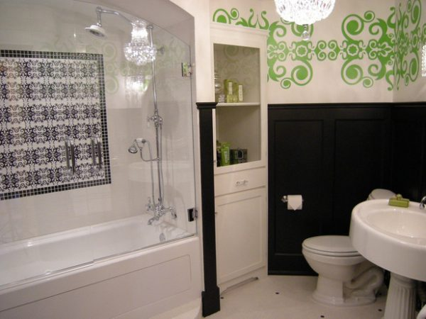 Обустройство ванной с помощью шкафов