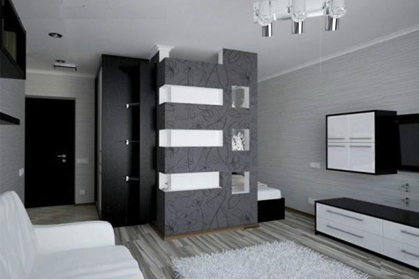 Как выполнить дизайн комнаты с нишей
