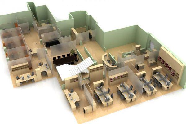 Проектирование офисов