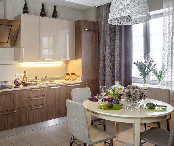 Варианты мебельных конструкций кухни